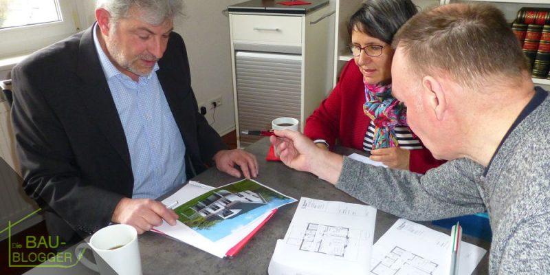 Plaungsgespräch mit dem Architekten