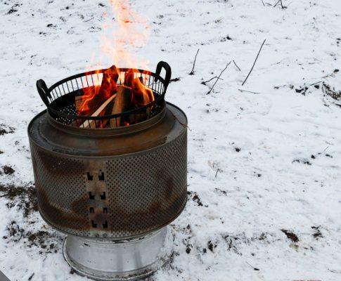 Fertighausmontage #1: Im Winter kann man nicht nur Iglus bauen