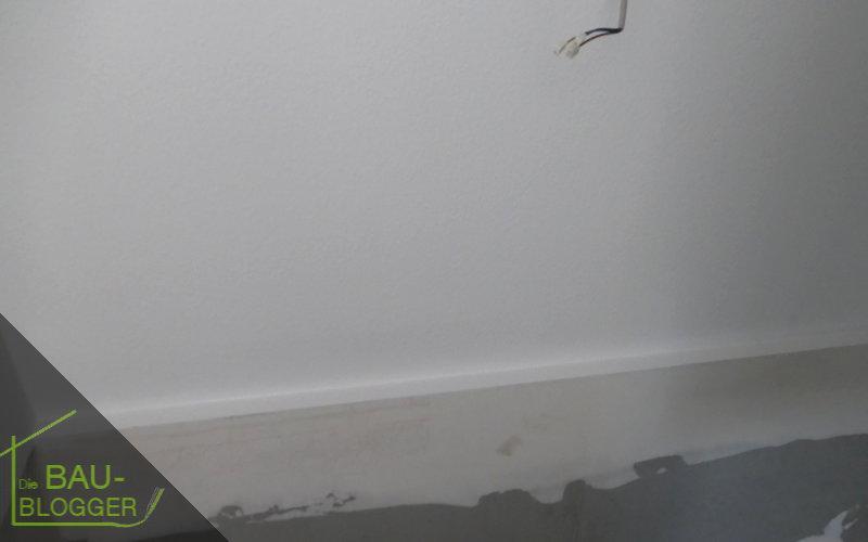 Bauleitergespräch - Kellerabsatz