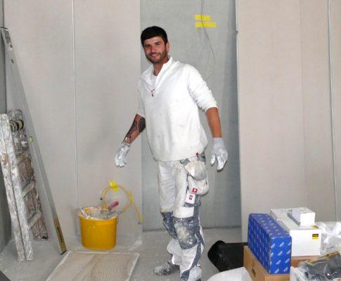 Kellerausbau I: Wände und Decken