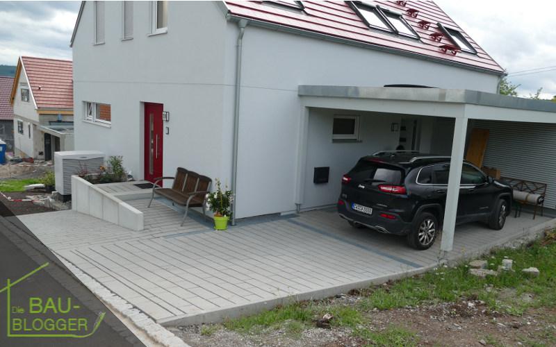 Haus mit Rinnen
