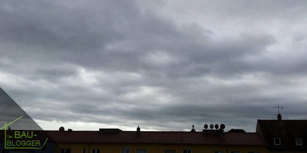 Sturmtief über Deutschland