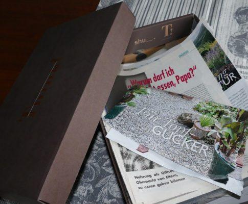 Schuhkarton-Archiv: Der Leserbrief für den Blog